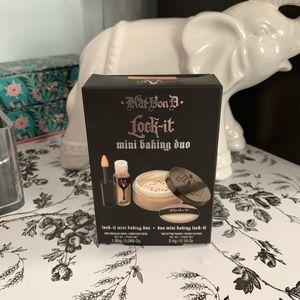 BNIB Kat Von D Lock It Mini Baking Duo